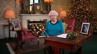 The Queen pays tribute to those who inspire the nation in Christmas message