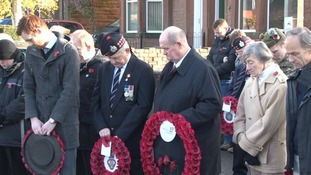Remembering the fallen in Dumfries