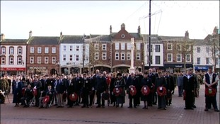 Two minutes silence in Carlisle