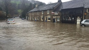 Whalley after the flooding in December 2015