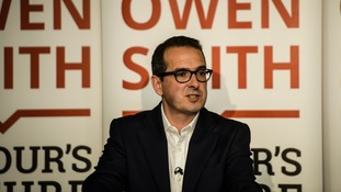 Owen Smith speaks in south Wales before the Labour leadership contest.