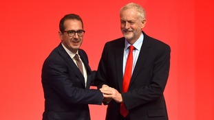 Owen Smith said Jeremy Corbyn's performance as Labour leader has improved since his re-election.