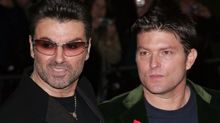 Kenny Goss pictured with George Michael in 2005.