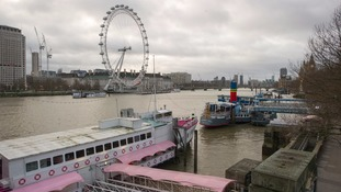 The London Eye on the Southbank.