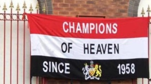 The flag was reportedly stolen from outside a pub before the Reds' Premier League tie against Sunderland on Boxing Day.