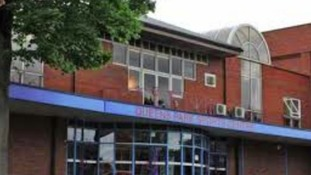 The old sports centre