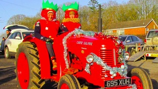 Boxing Day Tractor Run
