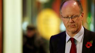 BBC director general George Entwistl