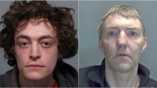Luke Stephens (left) and Edward Cash (right) are wanted for breaching the terms of their licence.