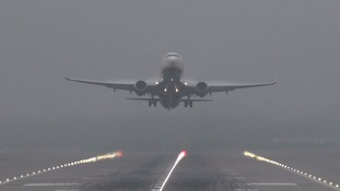 Warning over flight delays and cancellations after fog.
