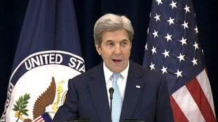 Kerry said the US voted in accordance with its 'values'
