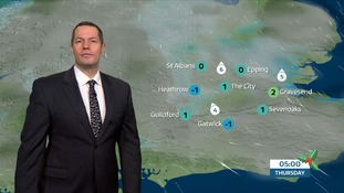 Weather: Overnight fog and frost, clearing only slowly.