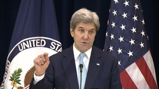 Kerry said the US rejected criticism of its vote
