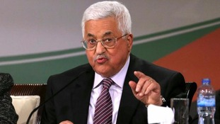 Palestinian President Mahmoud Abbas said he is ready to resume talks