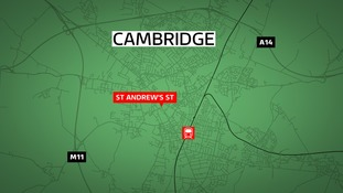 A man in his 70s is in Addenbrooke's Hospital with critical injuries.