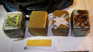 Police seize 1.1 tonnes worth £212m in Australia's 'largest cocaine bust'