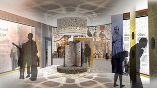 The proposed 'Eternal Egypt' exhibition