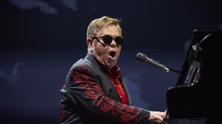 Elton John pays an emotional tribute to George Michael on his opening Las Vegas night