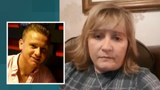 Corrie McKeague's mother has held a 90-minute Q&A session on Facebook.