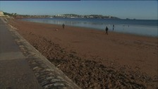 The seafront at Paignton