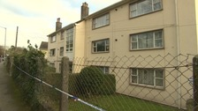 Police officers were called to Tregonissey Road in St Austell just after 4.30pm on Wednesday