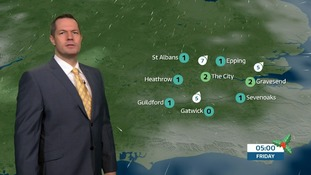 Weather: Freezing fog patches overnight clearing slowly.