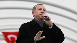 Recep Erdogan welcomed the new truce in Syria
