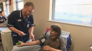Could giving blood be your New Year's Resolution?