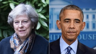 Theresa May criticises Obama administration's Israeli stance