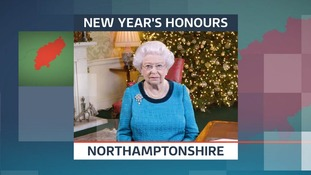 New Year Honours in Northamptonshire