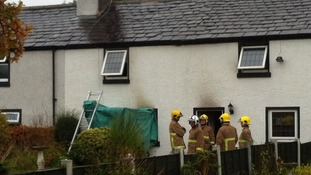 Firefighters have been at the scene since 8.30pm on Sunday