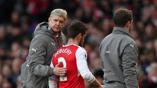 Arsene Wenger ready to sell 'frustrated' Arsenal defender Mathieu Debuchy