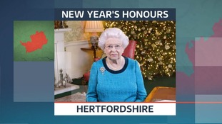 New Year Honours in Hertfordshire