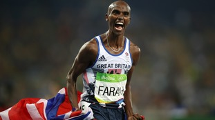 Mo Farah completes the double-double in Rio.