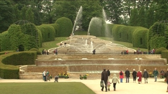 Alnwick Garden has been open since 2001 in the castle grounds