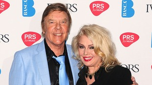 Marty and Kim Wilde at the 2013 Ivor Novello awards.