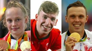 Ellie Robinson, Louis Rolfe and Joe Clarke all received MBEs in the New Year Honours.