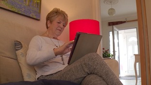 Doreen Kent, 80, was conned out of £45,000 in an online scam.