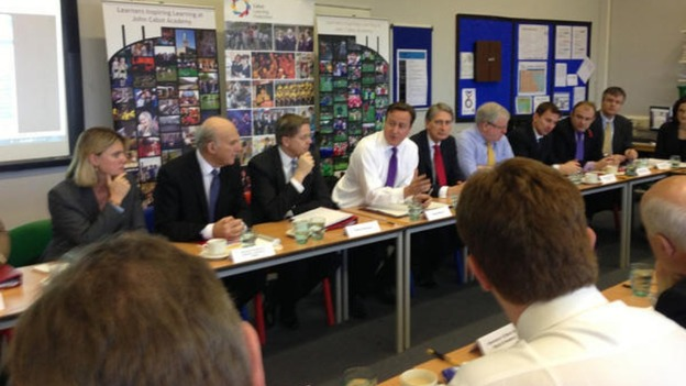 Cabinet meeting in Bristol