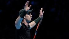 Murray said it would take time to get used to being 'Sir Andy'