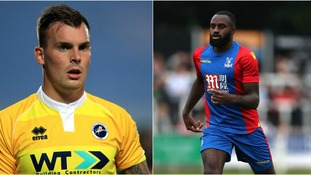 Gregg Wylde and Hiram Boateng will spend the rest of the season at Northampton.