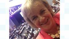Alison Mackenzie at the EU vote count in Birmingham June 2016