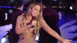 Mariah Carey close to tears after New Year's lip-sync failure