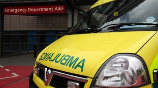 Man seriously injured after jumping out of ambulance