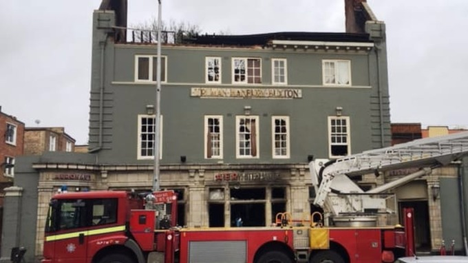 fire in west london pictures