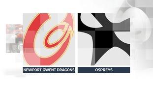 Dragons ospreys