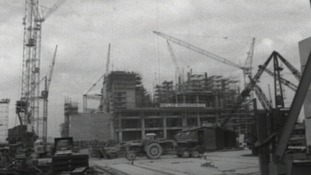 Construction of Wylfa in 1970's