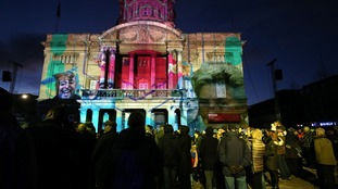 Hull's year as UK City of Culture was launched with a spectacular sound and light show
