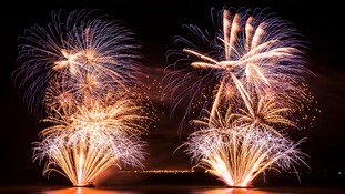 Stunning fireworks display launches City of Culture celebrations