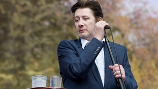 Shane MacGowan is frontman for Irish band The Pogues.